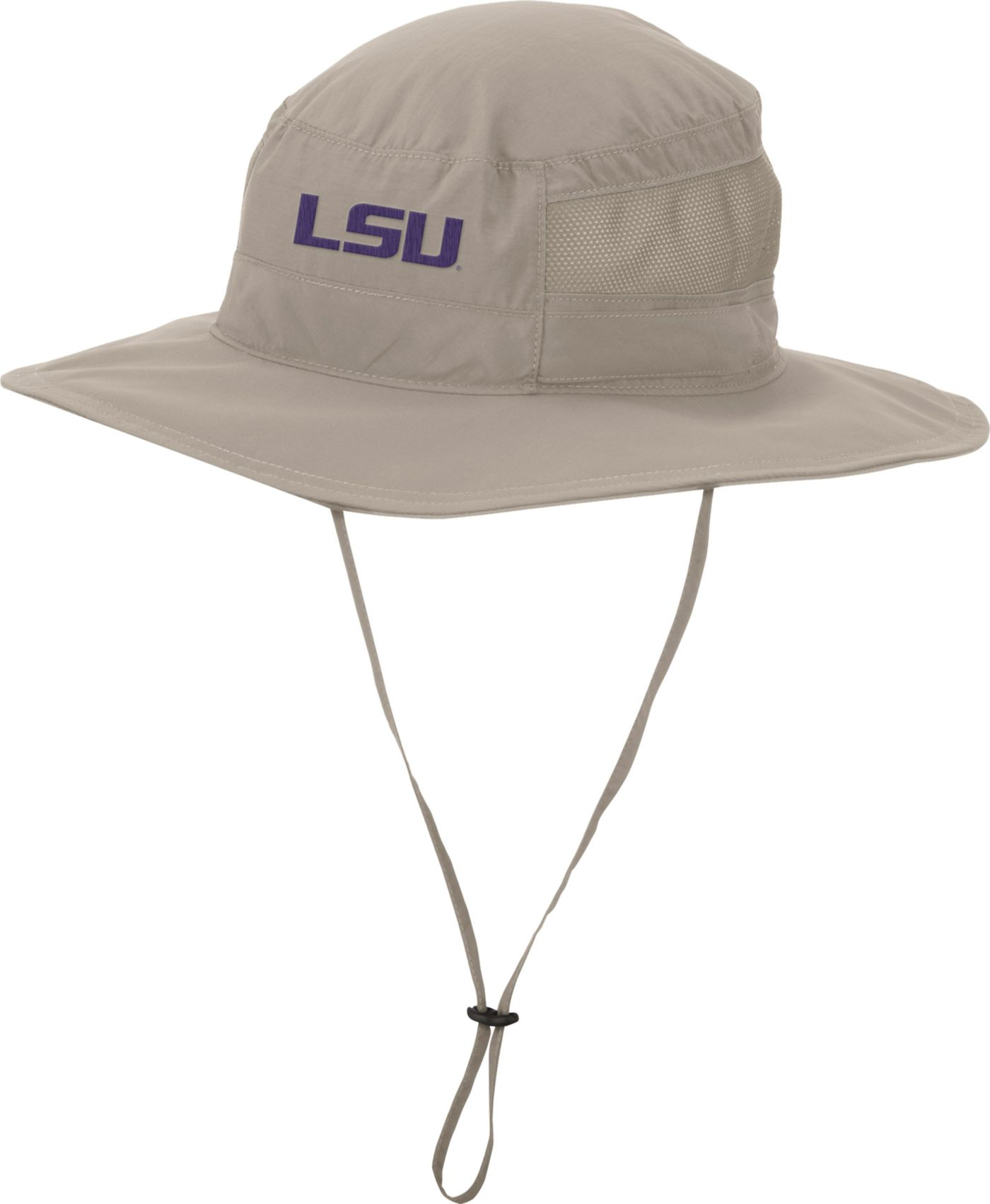 Columbia Men's LSU Tigers Khaki Bora Bora Booney II Hat