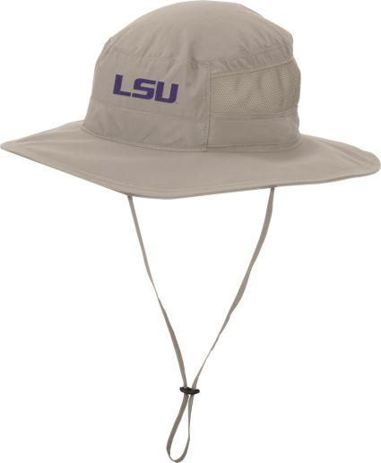 Columbia Men's LSU Tigers Khaki Bora Bora Booney II Hat
