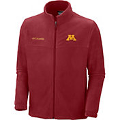 Columbia Men's Minnesota Golden Gophers Maroon Flanker II Full-Zip Fleece Jacket