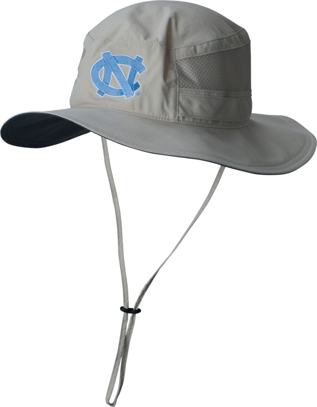 24daa40c Columbia Men's North Carolina Tar Heels Khaki Bora Bora Booney ll Hat 1