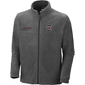 Columbia Men's South Carolina Gamecocks Charcoal Flanker Full-Zip Fleece Jacket