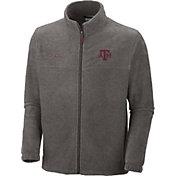 Columbia Men's Texas A&M Aggies Grey Flanker II Full-Zip Fleece Jacket