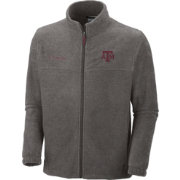 Columbia Men's Texas A&M Aggies Grey Flanker II Full-Zip Fleece Jacket
