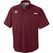 Columbia Men's Texas A&M Aggies Maroon Tamiami Performance Shirt
