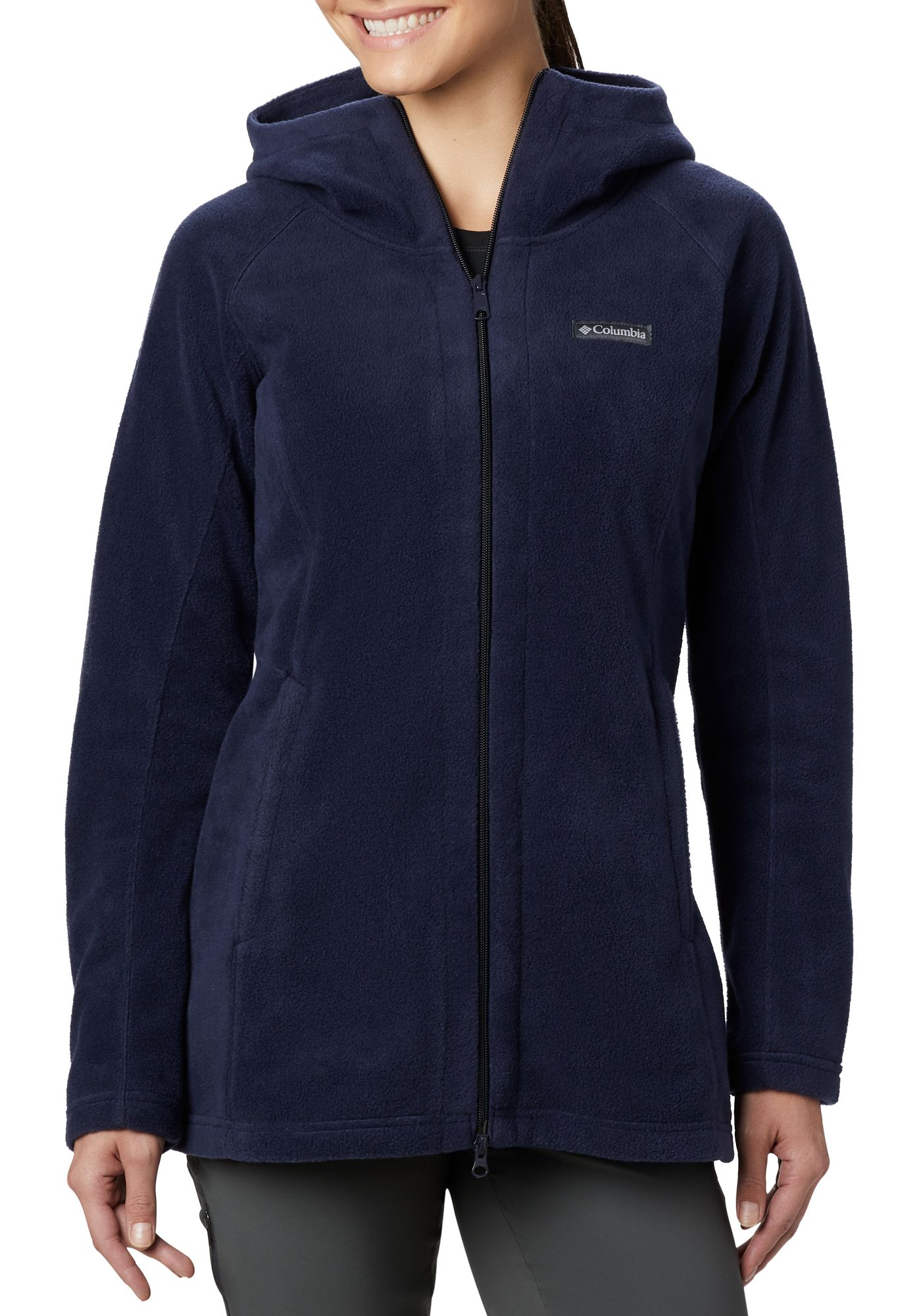 Columbia Womens Benton Springs Ii Long Hoodie  Dicks -9021