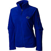 Columbia Women's Florida Gators Blue Give and Go Full-Zip Fleece