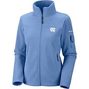 Columbia Women's UNC Tar Heels Carolina Blue Give and Go Full-Zip Fleece