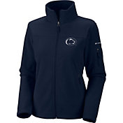 Columbia Women's Penn State Nittany Lions Give and Go Blue Full-Zip Fleece