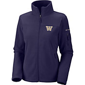 Columbia Women's Washington Huskies Purple Give and Go Full-Zip Fleece