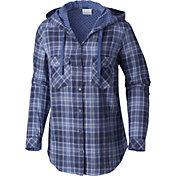Columbia Women's Times Two Hooded Long Sleeve Shirt