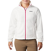 Columbia Women's Tested Tough In Pink Benton Springs Full Zip Jacket