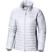 Columbia Women's Powder Pillow Hybrid Down Jacket