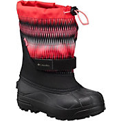 Columbia Kids' Powderbug Plus II 200g Waterproof Winter Boots