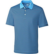 Cutter & Buck Men's Trevor Stripe Golf Polo - Big & Tall
