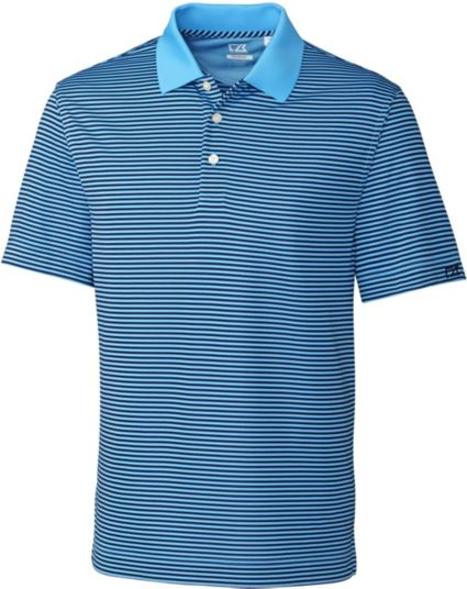 Cutter & Buck DryTec Trevor Stripe Polo - Big & Tall