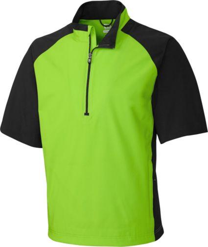 Cutter & Buck WeatherTec Summit 1/2-Zip Short Sleeve Pullover