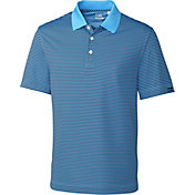 Cutter & Buck Men's CB DryTec Trevor Stripe Golf Polo