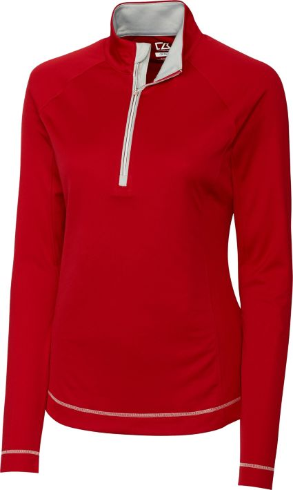 Cutter & Buck Women's DryTec Long Sleeve Evolve 1/2-Zip Jacket