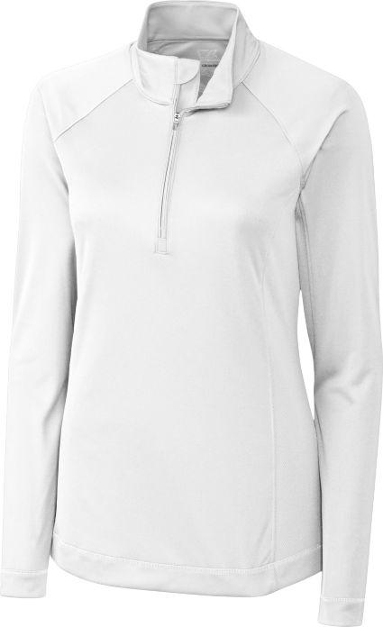 Cutter & Buck Women's DryTec Long Sleeve Evolve 1/2-Zip Jacket