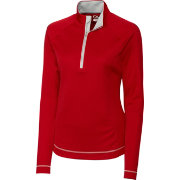 Cutter & Buck Women's DryTec Long Sleeve Evolve Half-Zip Golf Jacket
