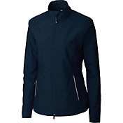 Cutter & Buck Women's WeatherTec Beacon Full-Zip Golf Jacket