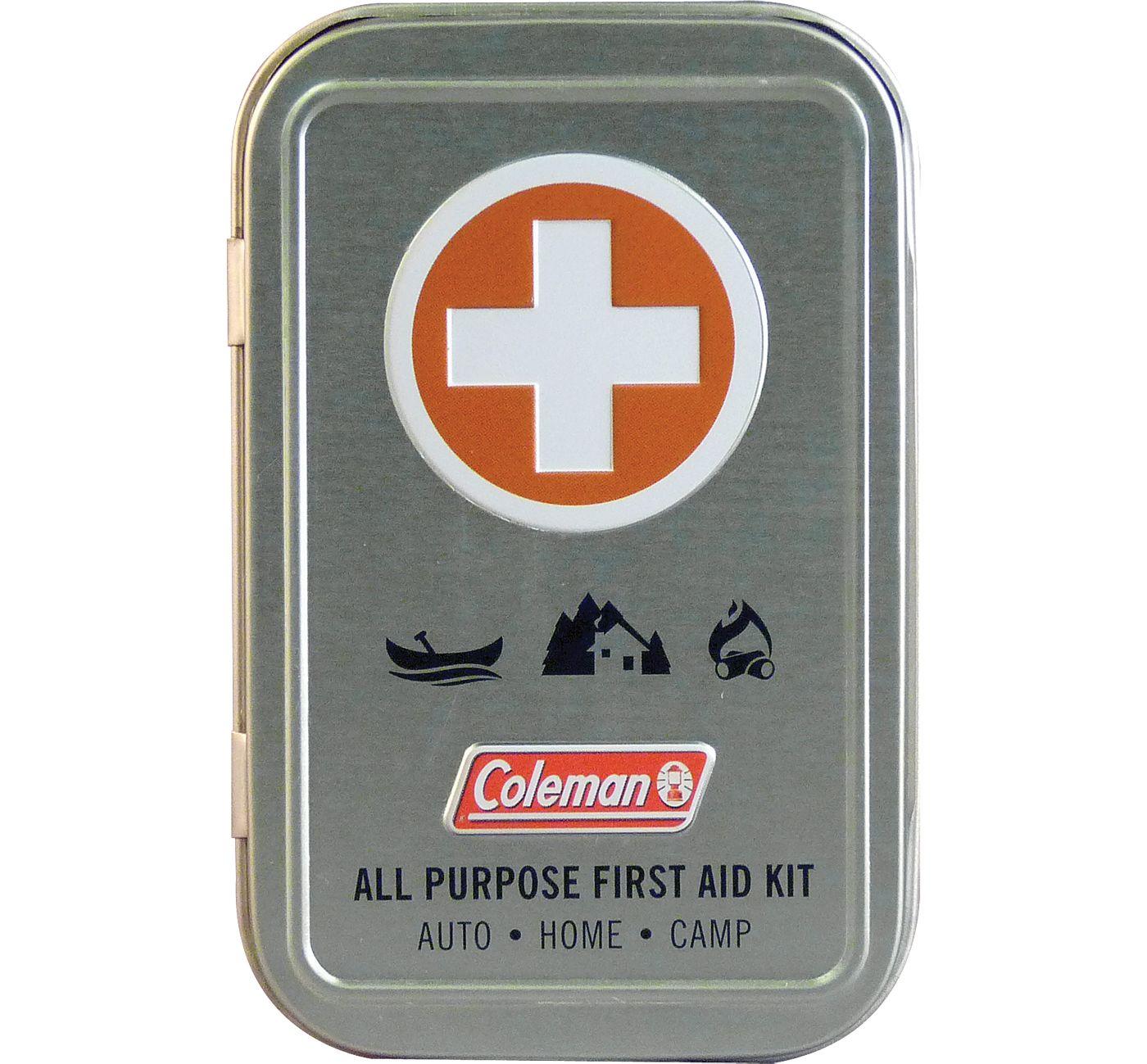 Coleman First Aid Tin
