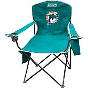 Coleman Miami Dolphins XL Quad Chair With Cooler