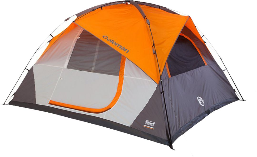 Coleman Signature Instant Dome 7 Person Dome Tent with Integrated Fly