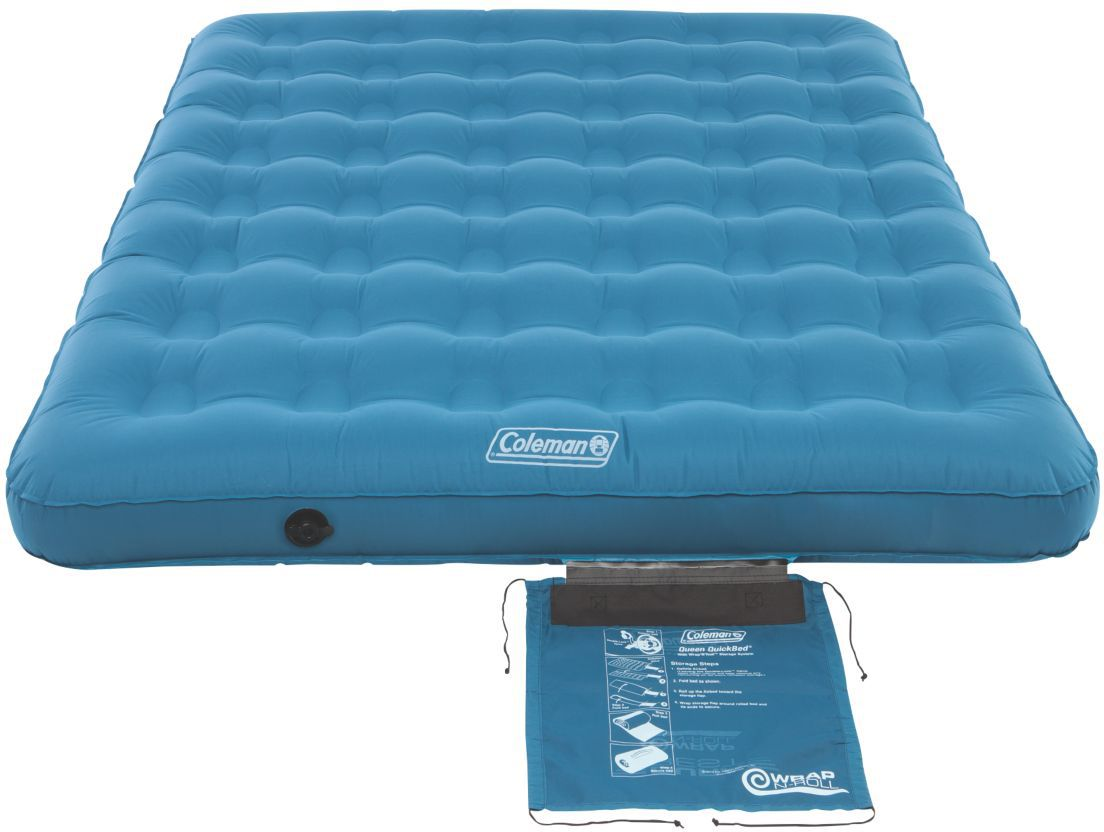 queen size air mattress coleman. Coleman Dura Rest Single Height Queen Air Mattress Size