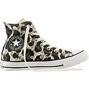 Converse Women's Chuck Taylor All Star Hi-Top Animal Print Casual Shoes