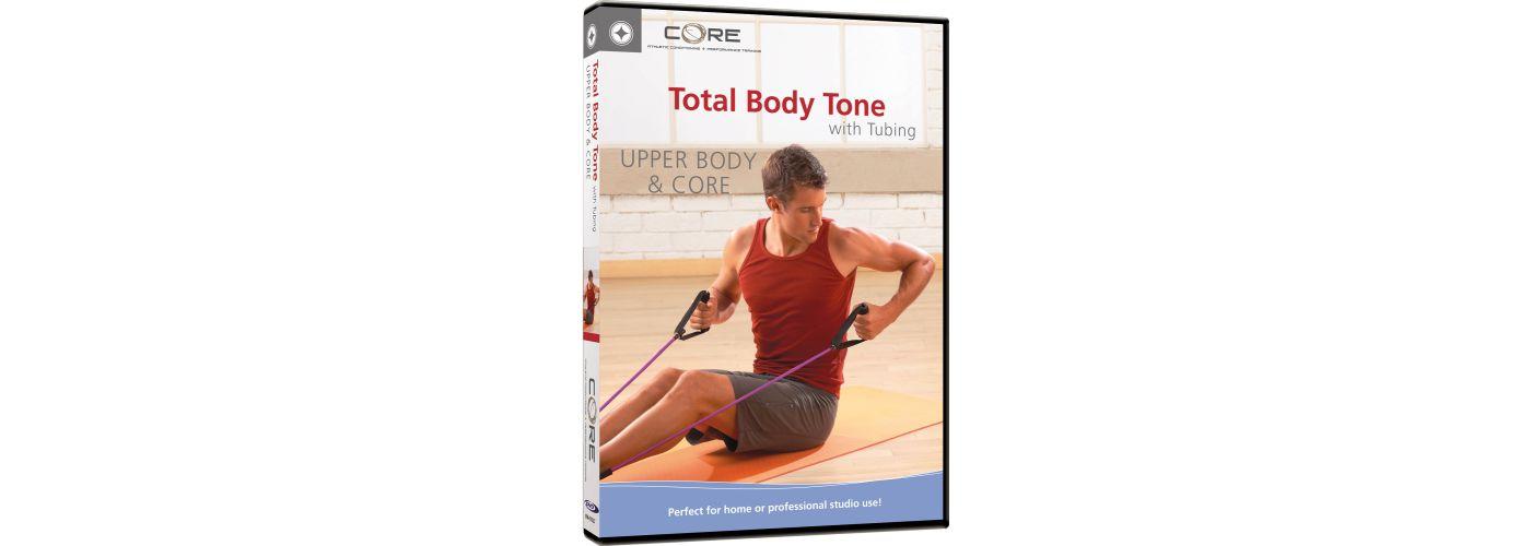 CORE Total Body Tone Upper Body & Core DVD