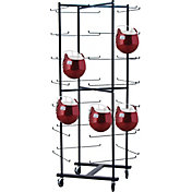 Champion 56 Football Helmet Rolling Rack
