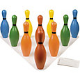 Champion Sports Multi-Color Plastic Bowling Pin Set