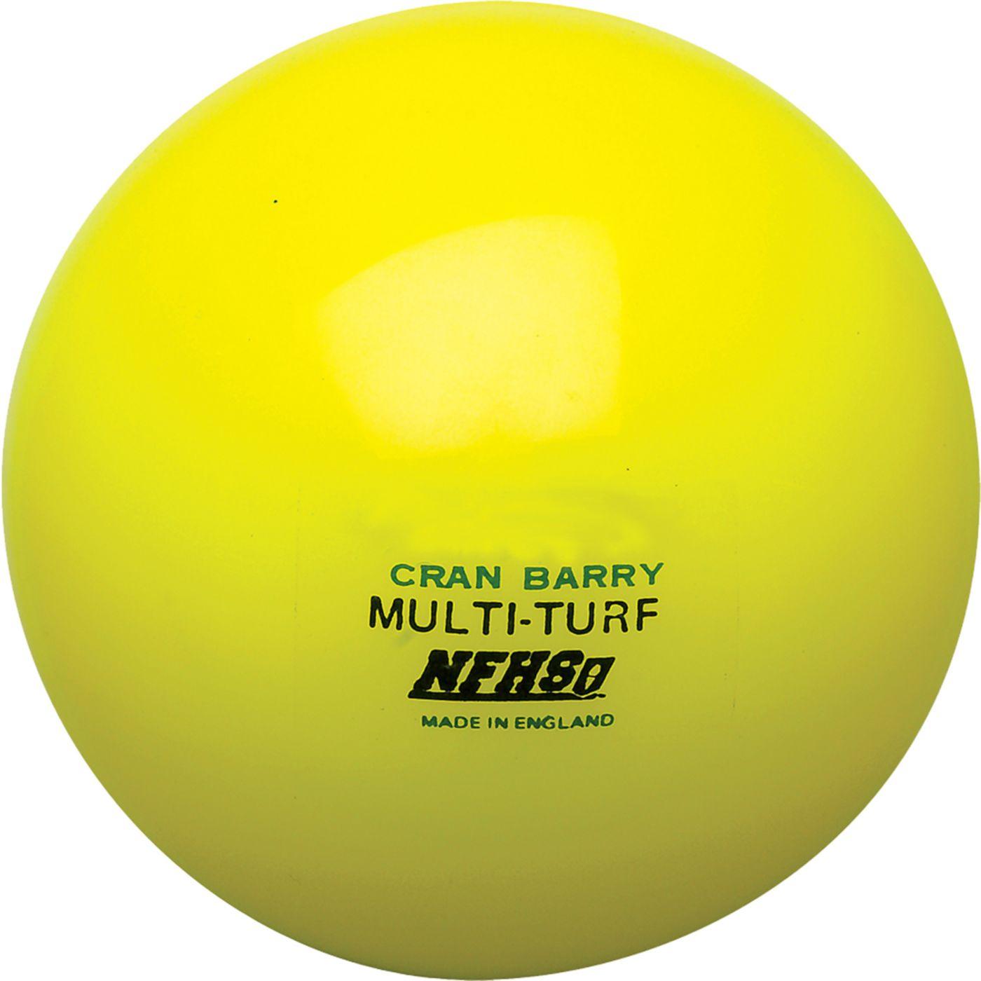 CranBarry Hollow Multi Turf Field Hockey Game Ball