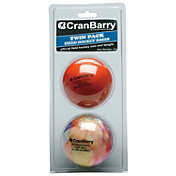 CranBarry Supersmooth Turf Field Hockey Practice Balls - 2 Pack