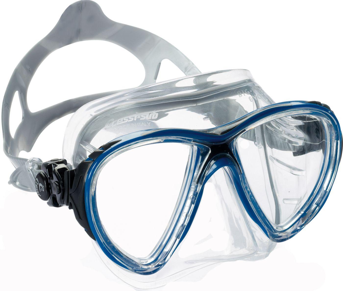 Cressi Big Eyes Evolution Crystal Snorkeling & Scuba Mask
