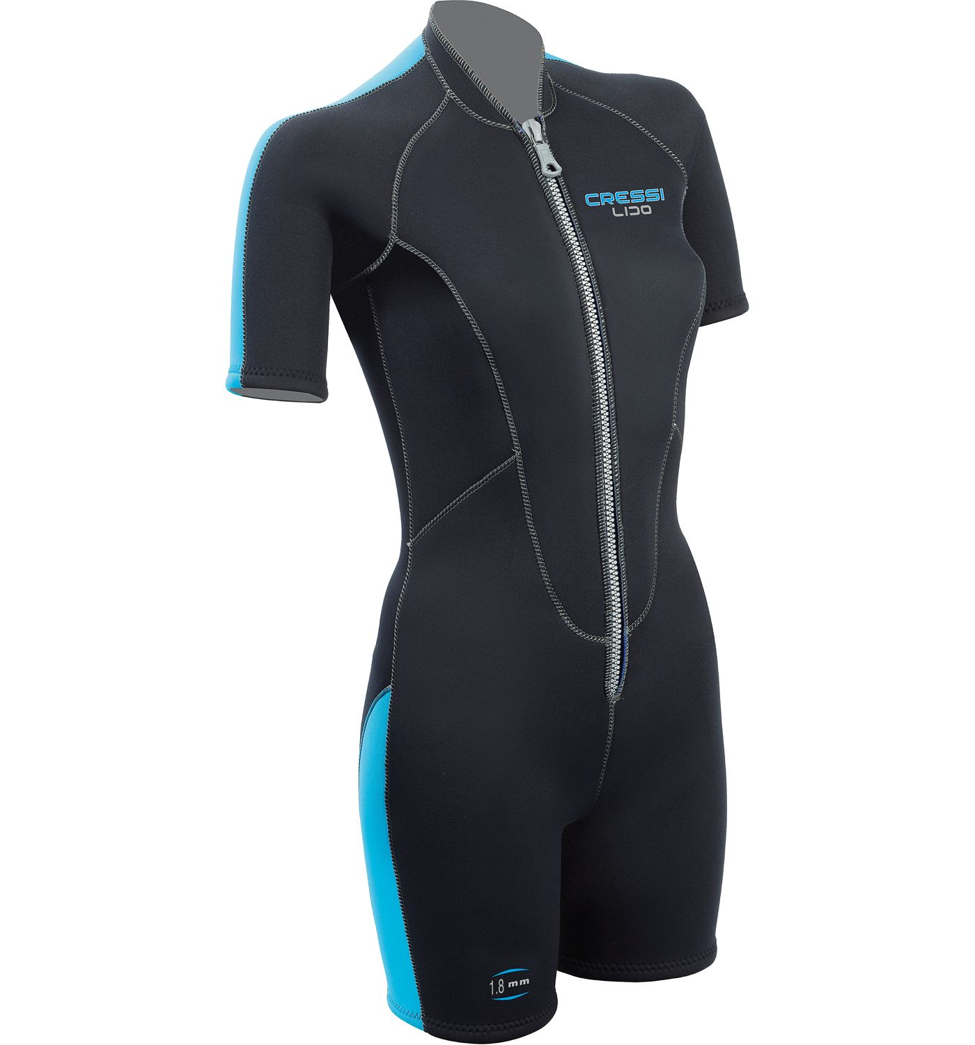 Cressi Women's Lido 2mm Shorty Spring Wetsuit