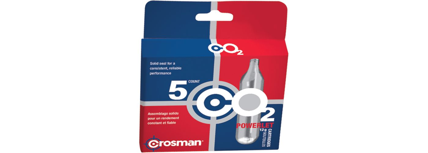 Crosman CO2 Cartridges - 5 Pack