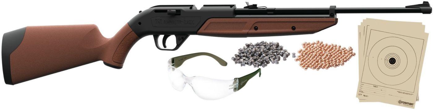 Crosman Pumpmaster 760BKT Pellet / BB Gun Package