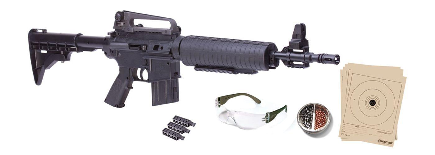 Crosman M4-177 Pellet / BB Gun Package