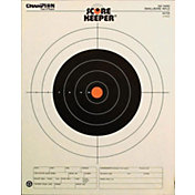 Champion Targets Score Keeper 100-Yard Small Bore Rifle Paper Target- 12 Pack