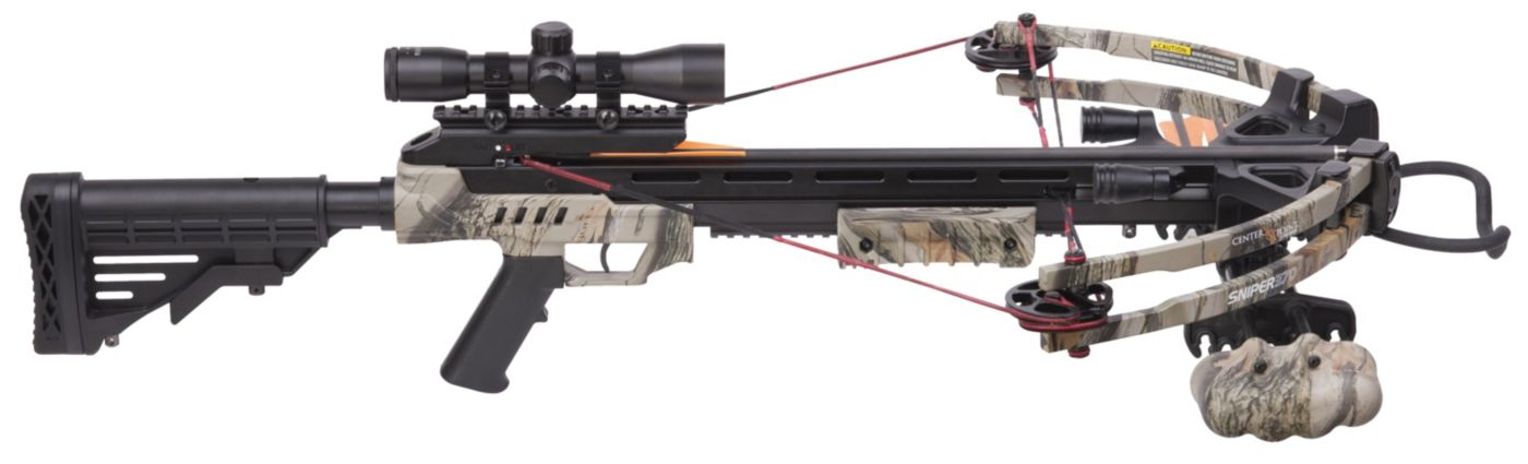 CenterPoint Sniper 370 Crossbow Package – 370 fps
