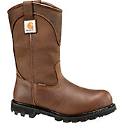 "Carhartt Men's Wellington 11"" Waterproof Safety Toe Work Boots"