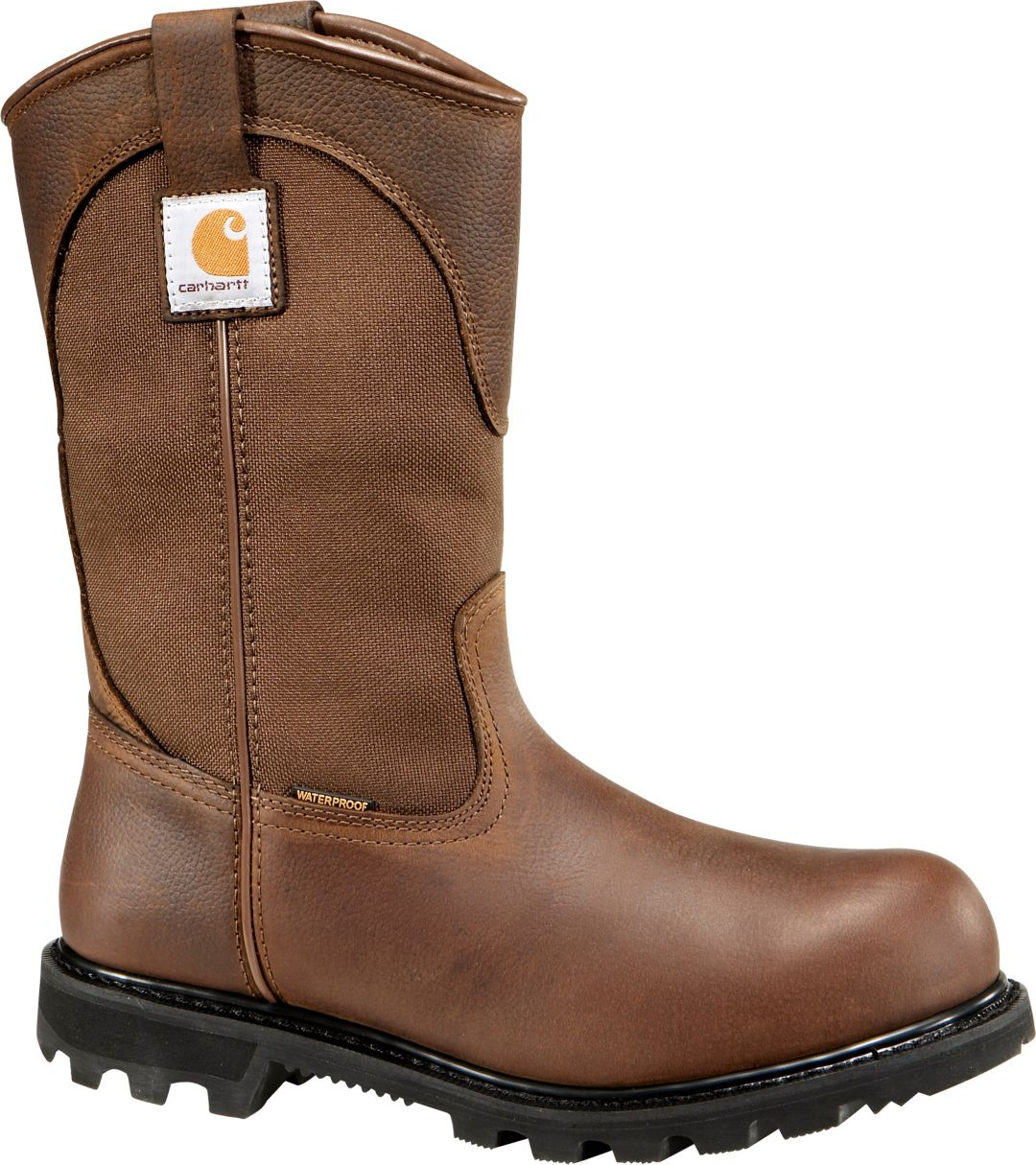 "3db8de3b47c Carhartt Men's Wellington 11"" Waterproof Safety Toe Work Boots"
