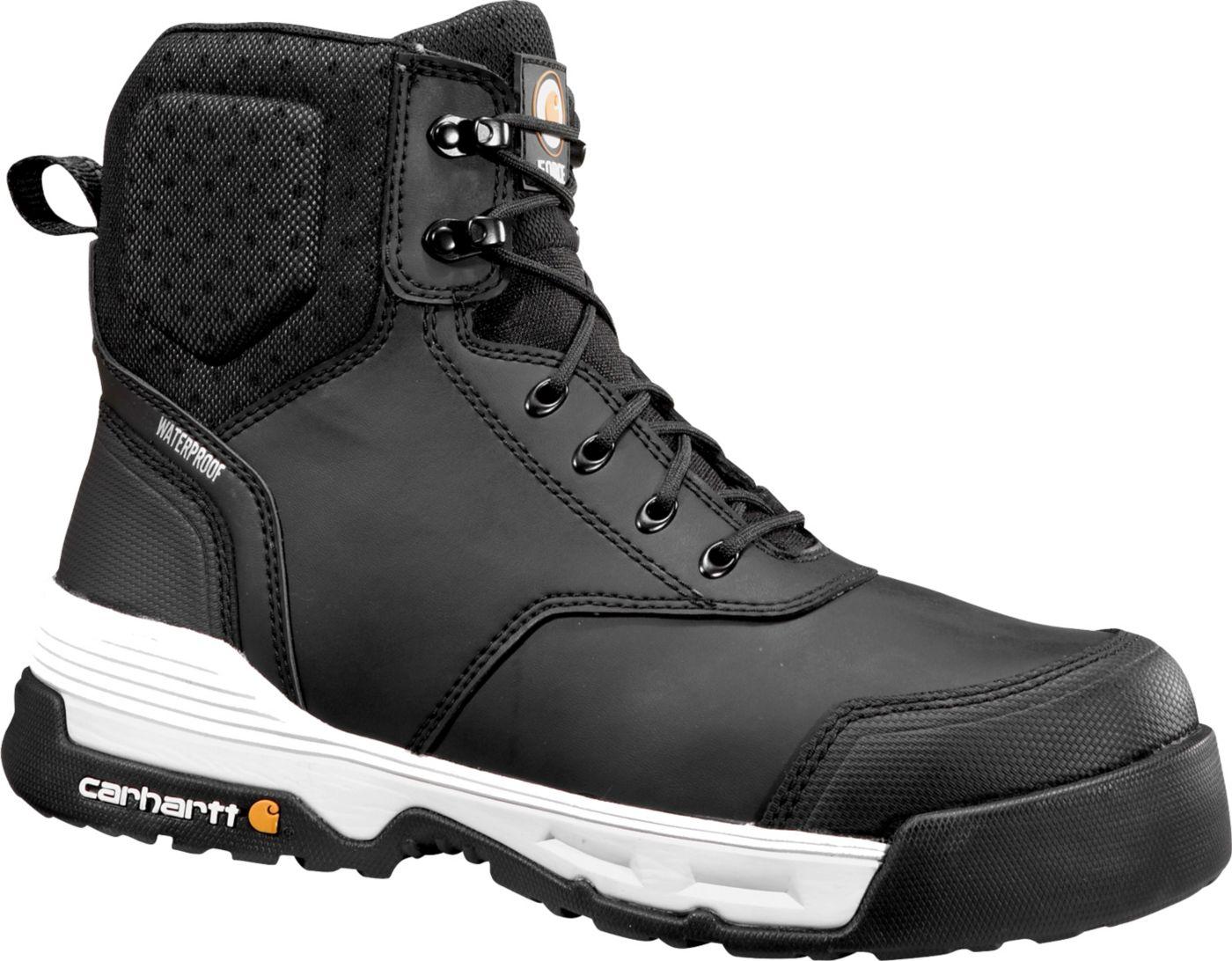"""Carhartt Men's Force 6"""" Waterproof Composite Toe Work Boots"""