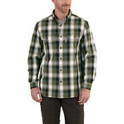 Carhartt Men's Fort Plaid Button Down Shirt