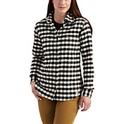 Carhartt Women's Hamilton Flannel Long Sleeve Shirt