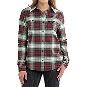 Carhartt Women's Hamilton Flannel Long Sleeve Shirt