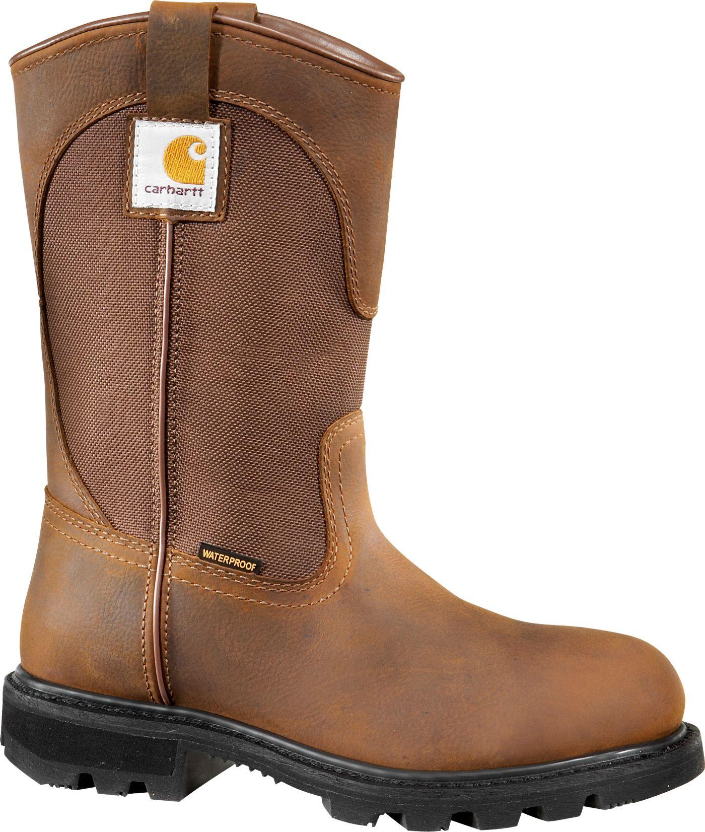 "Carhartt Women's Wellington 10"" Waterproof Work Boots"