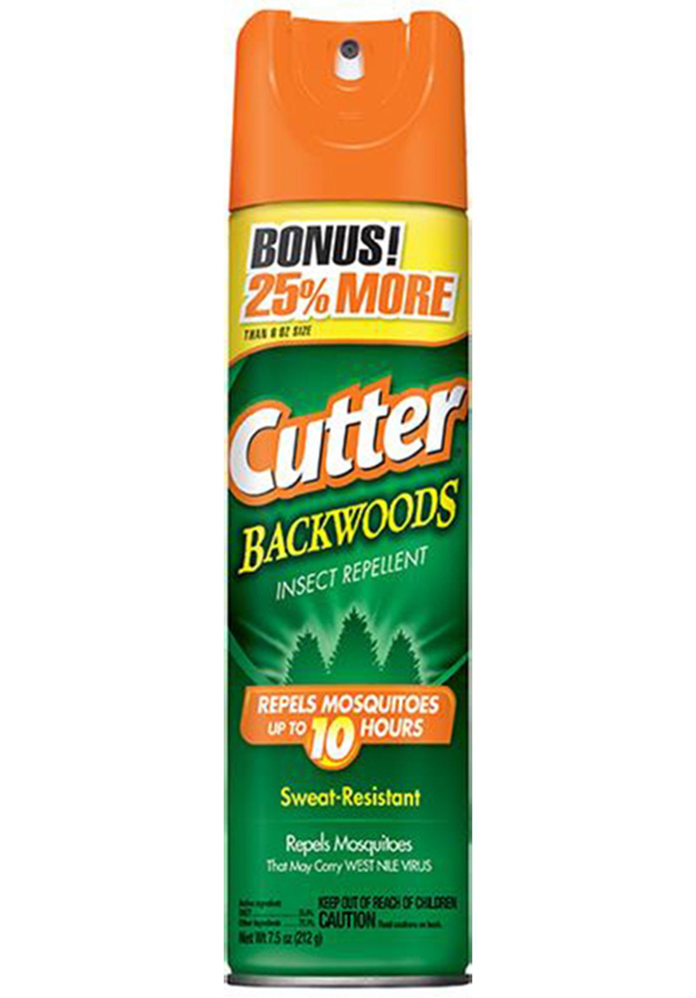Cutter Backwoods 7.5 oz. Insect Repellent Aerosol
